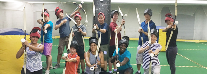 Indoor Archery Tag in Long Island City