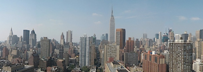 A view of Midtown from NYU Medical Center